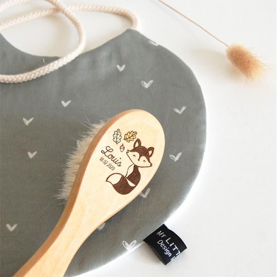 Brosse à cheveux - Renard