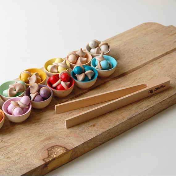 Accessoire de tri - Pince Montessori
