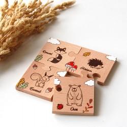 """Mon premier puzzle """"Forêt"""""""