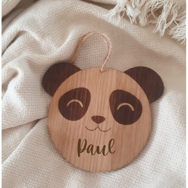 "Suspension ronde ""Panda"""
